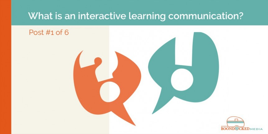 interactive learning communication eLearning design marketing sales